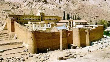 The Monastery of St. Catherine in the Egyptian Sinai