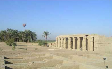 The Temple of Seti I on the West Bank at Luxor (ancient Thebes)