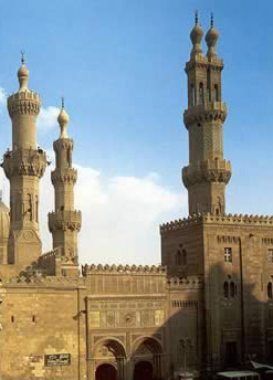Minaret of the Muhammed Ali Mosque, Cairo