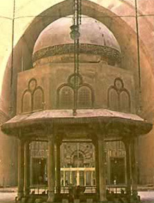 Ablution Fountain in the  mosque of Sultan Hassan, Cairo