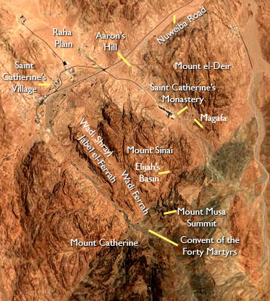 Mount Sinai and the General Area