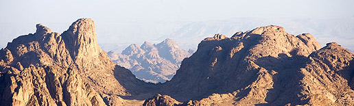 While it can get crowded  on Mount Sinai, most people are very reverent. They are the faithful