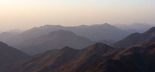 Another View from the Top of Mount Sinai