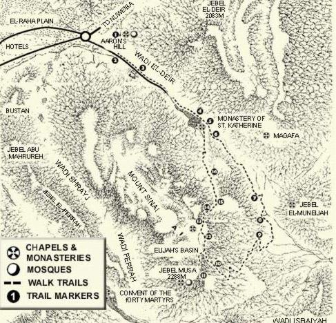 Mount Sinai, A walking Trail Guide