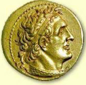 Another coin depicting Ptolemy I