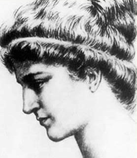 An artist's depiction of Hypatia
