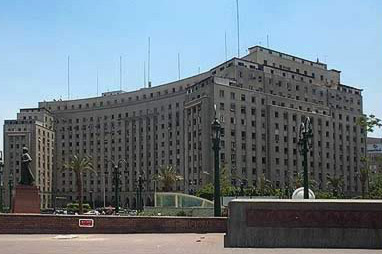 The Mugamma, combined offices of much of Egypt's government