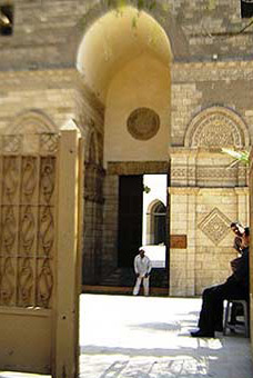 Entrance to the Mosque of Hakim