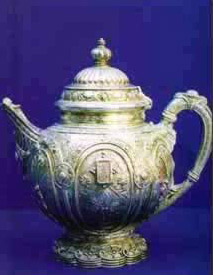 Decorated teapot, Prince Youssef Kamal