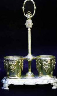 Spices vessels holder, Prince Youssef Kamal