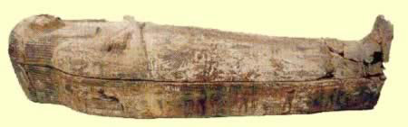 Nakhts coffin had been brought back from Egypt at the beginning of the 20th Century