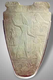 Front of the Narmer Palette