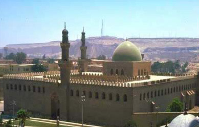 An overall view of the Mosque of al-Nasir Muhammad at the Citadel in Cairo