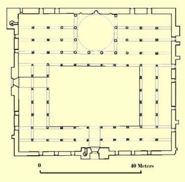 Plan of the Mosque of al-Nasir Muhammad