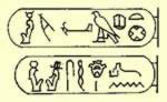The name cartouches of Nectanebo II