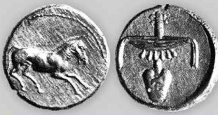 Coins made in the name of Nectanebo II