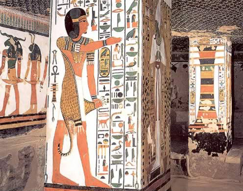 Beautiful Art from the Tomb of Queen Nefertari