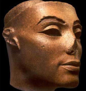 Composite Statue Head of Queen Nefertiti