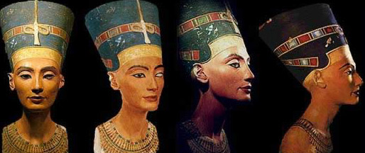 The famous Berlin Statue of Nefertiti