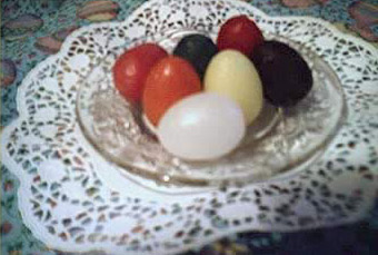 Painted eggs for Sham el Nessim