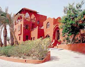 View of el Gouna resort near Hurgada
