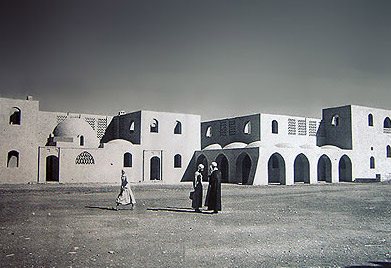 Hassan Fathy's new el Gourna just after it was built
