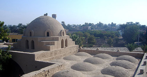 The Roof of the Mosque shows the use of domes for cooling