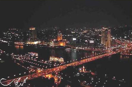 Cairo from the (Cairo) Tower at Night
