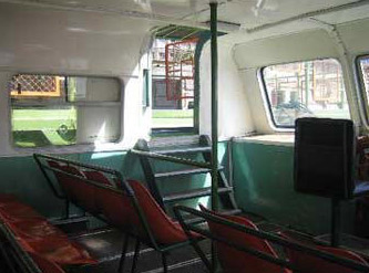 Inside the Nile Bus