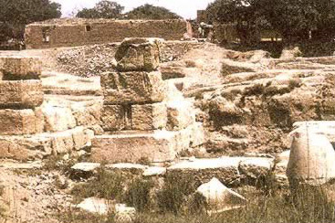 Ruins of the Temple at Kom el-Hisn