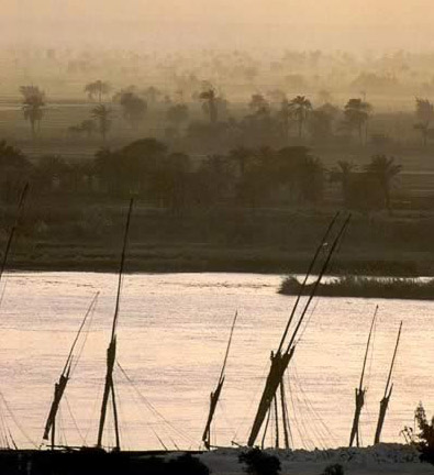 The Nile at Dusk