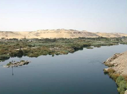 Nile View at Aswan