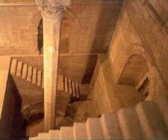 Interior of the Nilometer