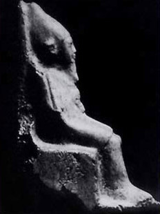 Small alabaster statue of Ninetjer