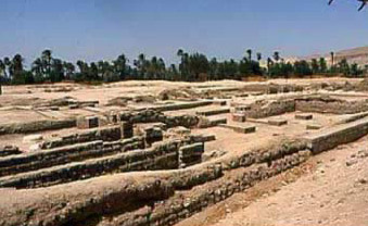 Remains of the North Palace at Amarna
