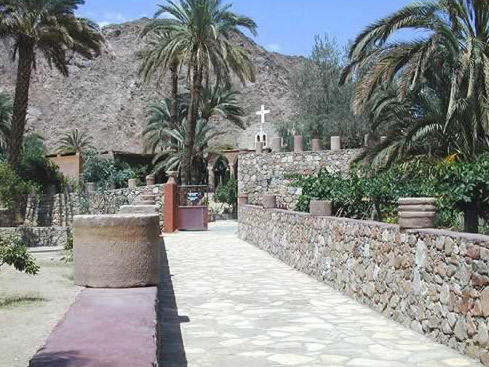 Nun's Monastery at Wadi Feiran