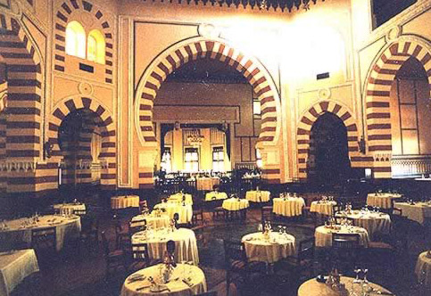 1902 Restaurant at the Old Cataract Hotel, Aswan