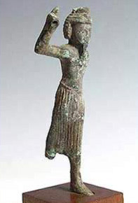 A late period bronze statue of Onuris