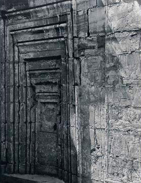 The Seven False Doors on the Southern Wall, one inside the next