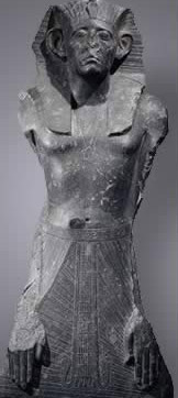 Statue of Senusret III from Abydos