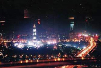Night view of Cairo
