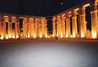 The Temple of Luxor at Night (provided by Travel Egypt)