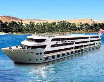 The Mirage Cruise Boat, a fantastic floating hotel