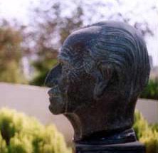 Bust of Dr. Hassan Ragab