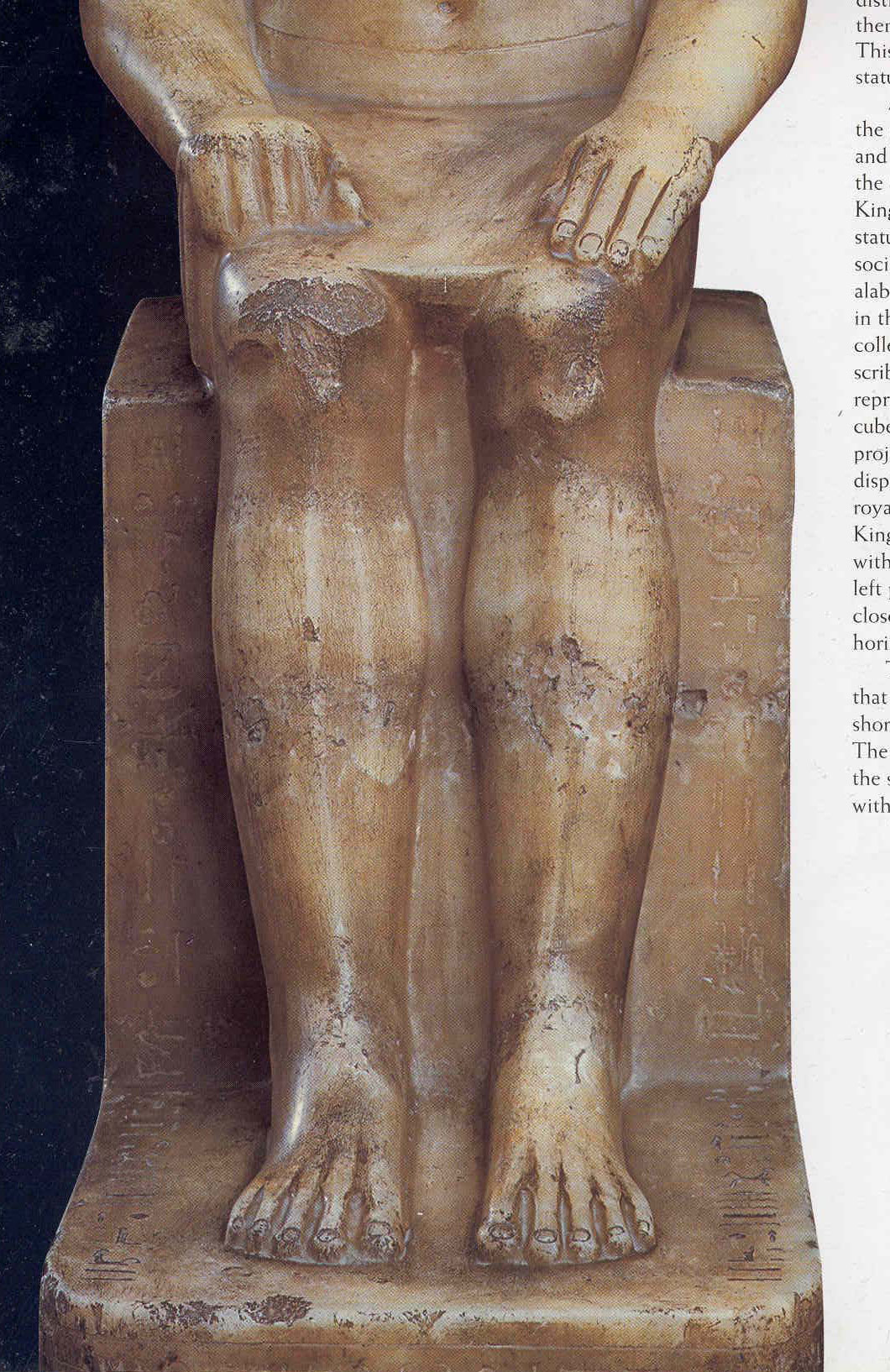 Seated Statue of Petamenhotep