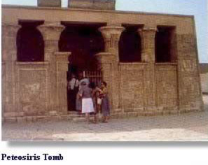 Peteosiris Tomb in Egypt