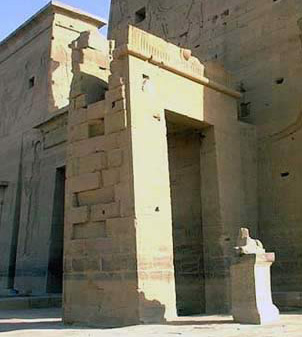 the Gate of Ptolemy II Philadelphus at Philae