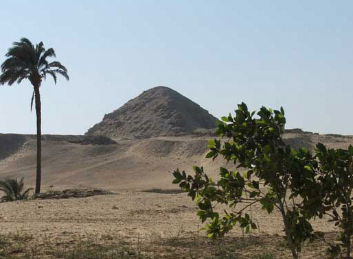 Pyramid at Abu Sir