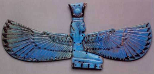 Winged Image of the Goddess Nut