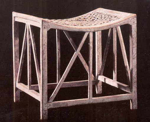 Stool from Sennedjem's Tomb